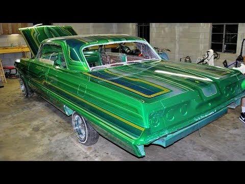 1963 Chevrolet Impala SS Custom Lowrider Build Project