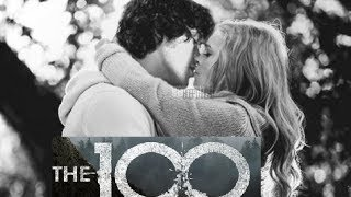 BELLARKE STORY (1x01 - 4x13 ) / Bellamy & Clarke (The 100)