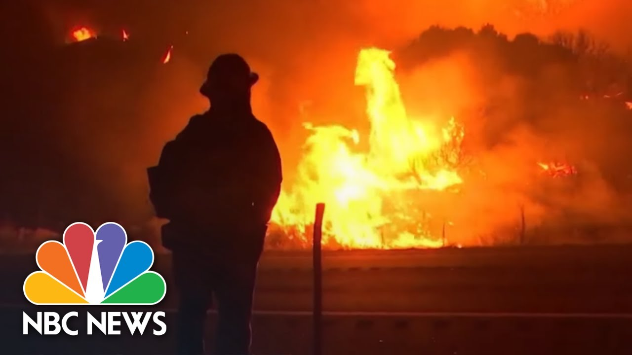 Largest Wildfire In California History Rages Out Of Control | NBC News NOW