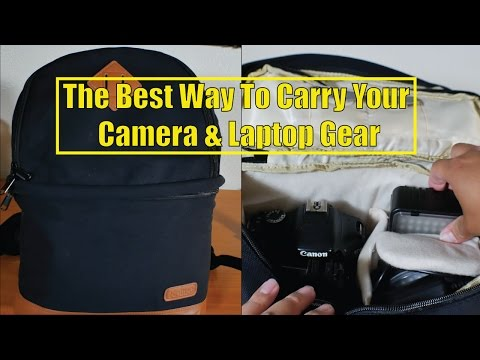The Best Way To Carry Your Camera & Laptop Backpack