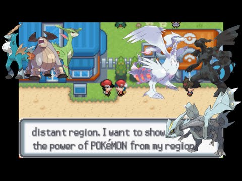 Let's Play Pokemon Light Platinum 48 - Unova Legendaries