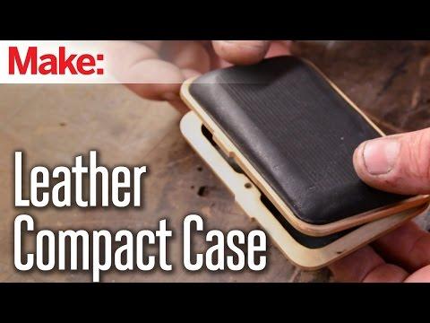 DiResta: Leather Compact Case