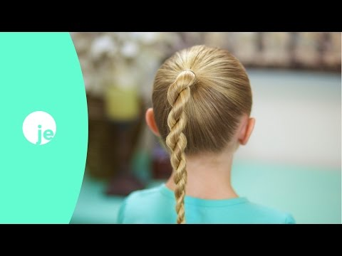 How to do a Rope Twist Braid | Basic Braids
