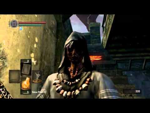 Dark Souls - Slaying Hellkite Draken melee
