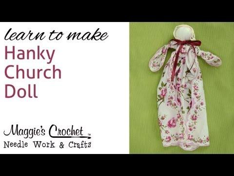 Vintage Hanky Church Doll