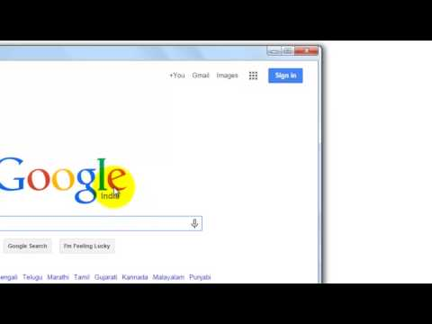 How to Add a Google Shortcut on Your Desktop (Hindi)