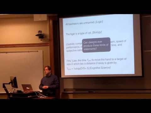 MISC 031015 Jeff Bardzell: Design as Inquiry