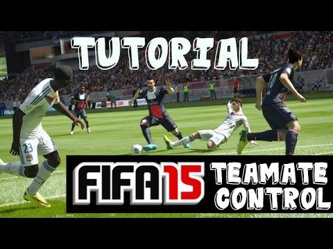 FIFA 15 Defending Tips   Teammate Control Tutorial
