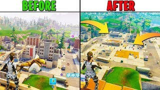 DELETING Tilted Towers City from FORTNITE!