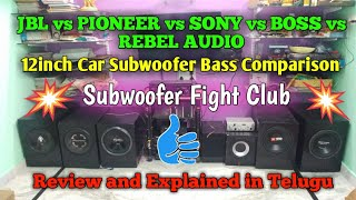 Samcon SPL model Subwoofer bass test | Heavy Punch bass in