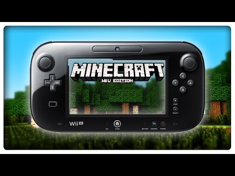 Let's Show MINECRAFT WII U EDITION
