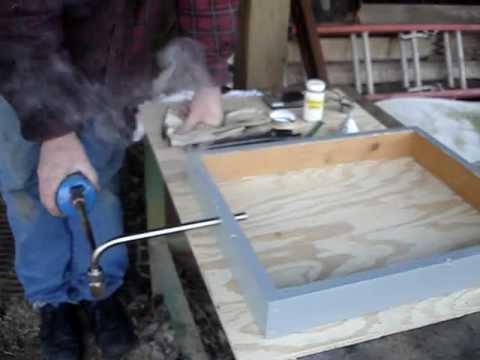 Treating Beehives With Oxalic Acid Vapor