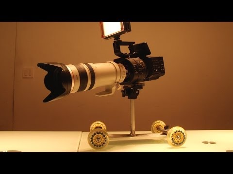Pico Flex Dolly For Large Cinema Camera Shot Hook It Up Shorty sE.1