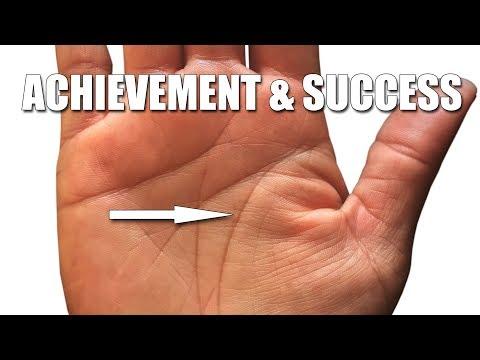 ACHIEVEMENT & SUCCESS LINES   PALMISTRY