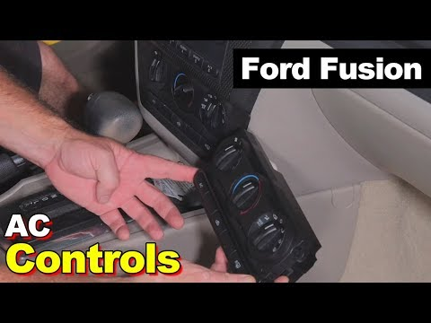 Ford Fusion or Milan HVAC AC Air Conditioner Heat Heater Control Head Switch How To Replace