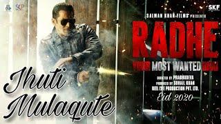 DABANG 3 | Atif aslam | JHUTI MULAQATE SONG |upcoming salman khan Bollywood song Leaked