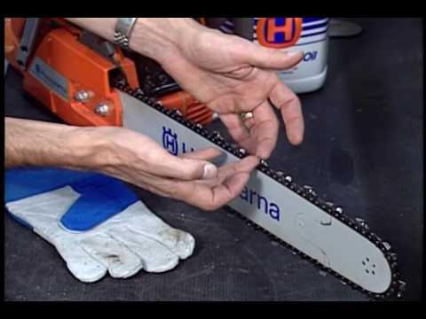Chainsaw Chain Maintenance
