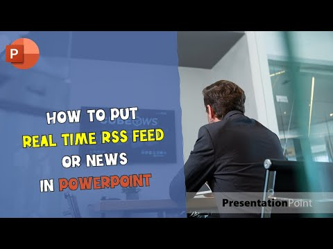 Real-time RSS feed or News in PowerPoint