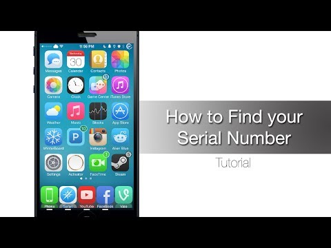 3 ways to find iPhone, iPad or iPod Touch Serial Number - iPhone Hacks
