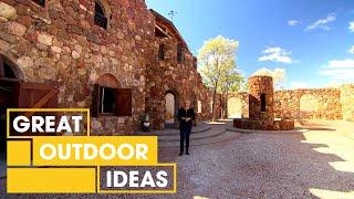 Italian-Style Hand-Built Castle Tour | Outdoor | Great Home Ideas