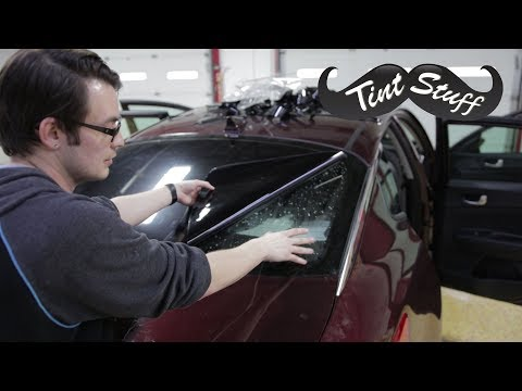 Easiest Way to Tint a Back Window!! | How to Tint a Rear Windshield