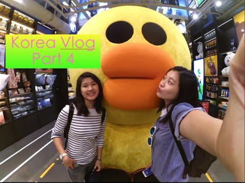 Korea Vlog Part 4   GAROSUGIL & YOOGANE DAKGALBI