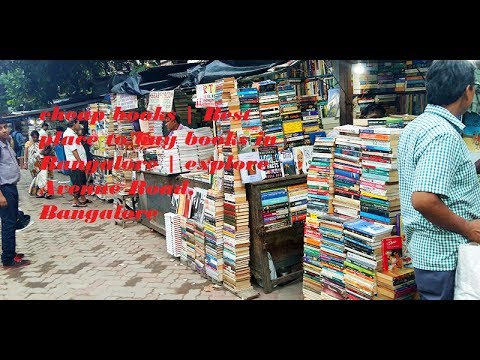 cheap & Best place to buy books in Bangalore (India) | explore Avenue Road, Bangalore | Mc Taiwer