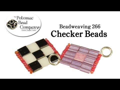 How to Make Checker Beads
