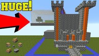 WORLDS LARGEST MINECRAFT CASTLE!!!