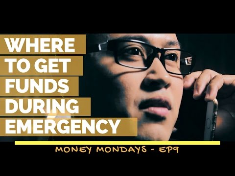 Where to Get Funds During Emergency - Money Mondays Ep9