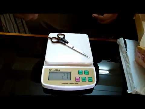 Atom Digital Kitchen Scale Review [Battery And Electricity Operated]