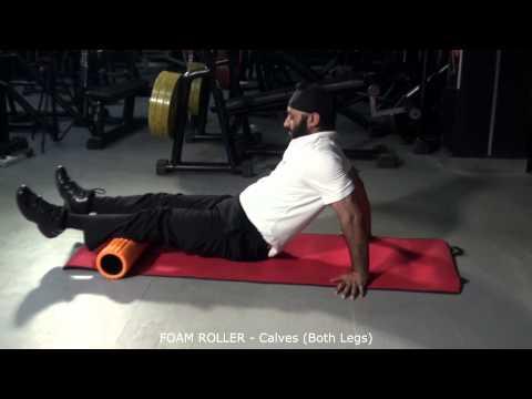 FOAM ROLLER - Calves (Both Legs)