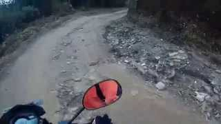 Ride down from Kalinchowk, Nepal