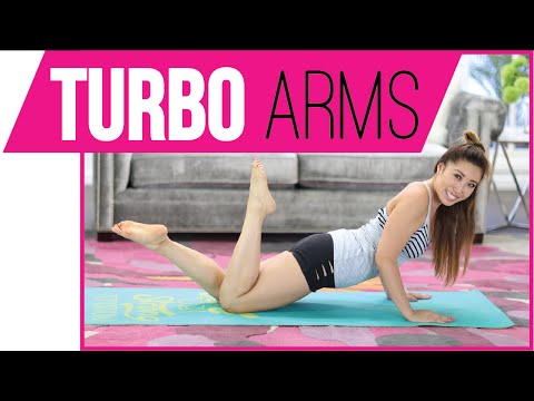 3 minute Toned Arms Workout | POP Pilates TURBO
