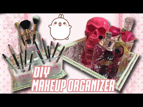 3 DIY Makeup Organizer Ideas