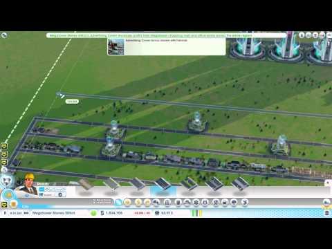 SimCity 5 - Tutorial - Megatower FREE MONEY Glitch
