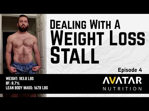 DEALING WITH A WEIGHT LOSS STALL   Raw Powerlifting Nationals Prep Episode 4