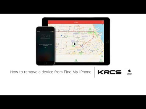 How to remove a device from Find My iPhone