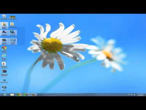 How To Add My Computer Icon On Desktop In Windows 8