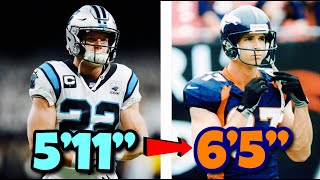 Comparing NFL Stars to their Dads