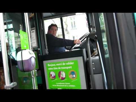 Taking the # 29 bus, Paris, France MVI_0340.MOV