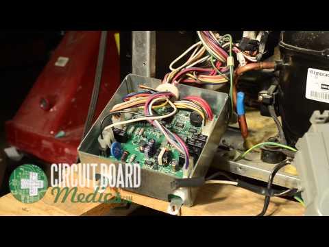 KitchenAid Free Standing Refrigerator Control Board Repair W10219463