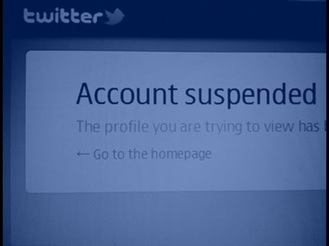 Twitter Account Suspended - What to do when this happens?