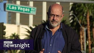 Las Vegas: Deserted in the aftermath of the shooting - BBC Newsnight