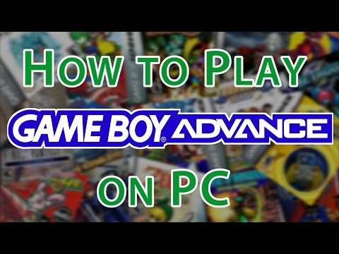 How To Play Gameboy Advance Games On PC  [Gameboy Advance Emulator Visual Boy Advance]