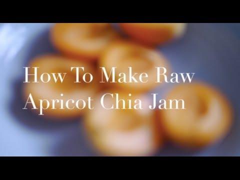 How To Make Raw Apricot Chia Seed Jam