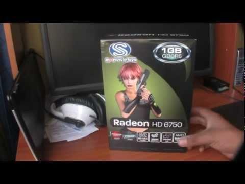 Sapphire ATI Radeon HD 6750 GPU Barts 1Gb GDDR5
