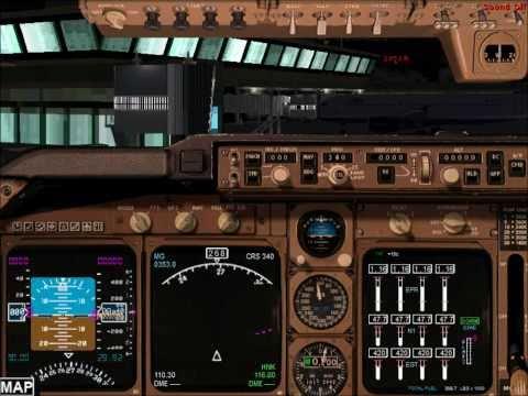 Etihad Airways (A340-500) New York, USA to Abu Dhabi, UAE - FS2004