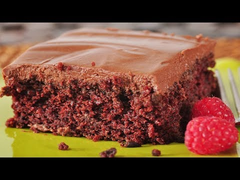 Chocolate Cake Recipe Demonstration - Joyofbaking.com