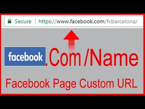 How to set a Custom url for facebook Page/Change Faceboook page URL [Bangla]2017